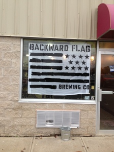 Backward Flag Brewing | geekybeergal